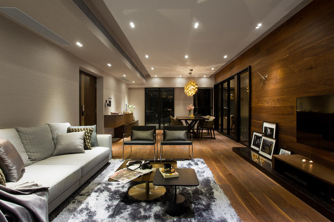 Contemporary Living Room by Chinc's Workshop