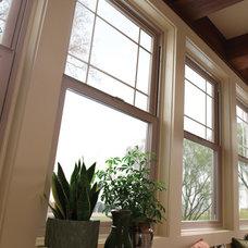 Traditional Family Room by Milgard Windows & Doors
