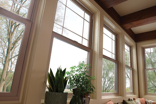 is this the standard tan colored milgard window