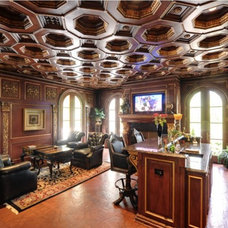 Traditional Family Room by Keystone Cabinetry Inc.   Since 1984