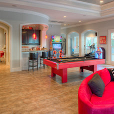 Traditional Family Room by Frankel Building Group