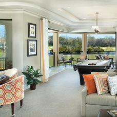Contemporary Family Room by Arthur Rutenberg Homes