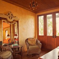 Mediterranean Family Room by Graham Dunn Photo