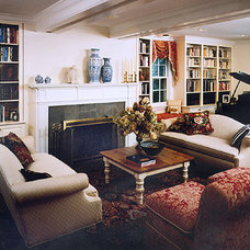 Traditional Family Room by Sunrise Building & Remodeling Inc