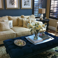 Beach Style Family Room by Savvy Interiors