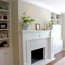 Traditional Family Room by Profile Cabinet and Design