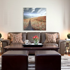 Contemporary Family Room by Panache Home Decorating