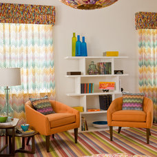 Modern Family Room by Victoria Sanchez Interiors