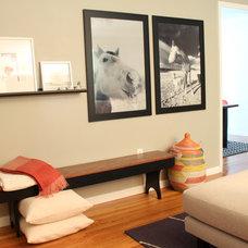 Midcentury Family Room by Studio MOD(ish)
