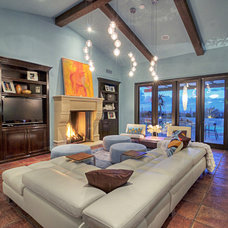 Modern Family Room by Mod Surrounds