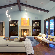 Contemporary Family Room by Mod Surrounds