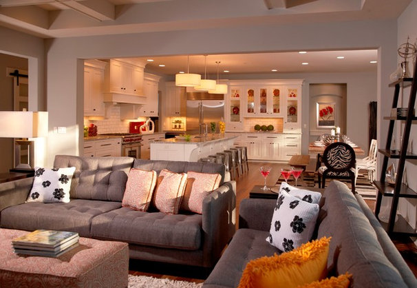 Traditional Family Room by VanBrouck & Associates, Inc.