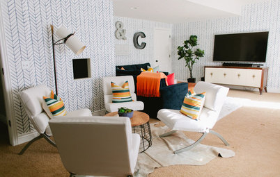 Room of the Day: A Playful Basement Makeover Suits All Ages