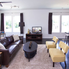 Modern Family Room by Shop Just Perfect!