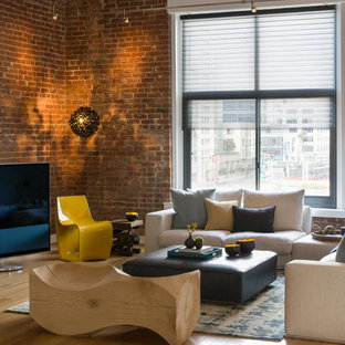 Modern City Loft Living Room