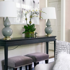 Modern Family Room by Susan Glick Interiors