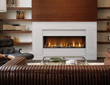 Modern Contempo Fireplace Mantel Styles