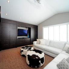 Contemporary Family Room by Kon-strux Developments