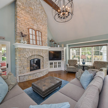 Modern Craftsman Style Home in Naperville