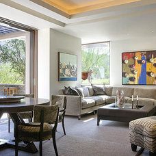 Contemporary Family Room by Harte Brownlee & Associates Interior Design