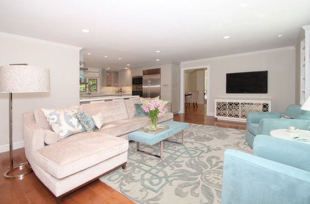 Transitional Family Room by You're Home Custom Interiors