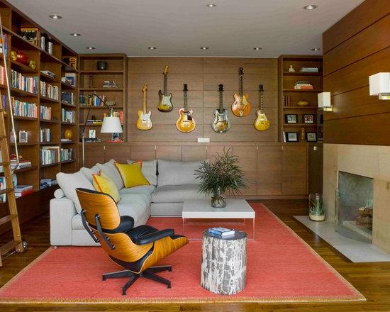 modern family room | houzz