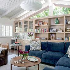 Modern Family Room by Daleet Spector Design
