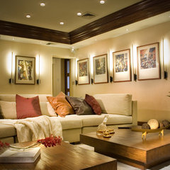 modern family room by DKOR Interiors Inc.- Interior Designers Miami, FL