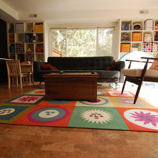 Eclectic Family Room Modern Family Room