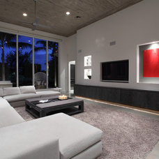 Modern Family Room by Brown's Interior Design