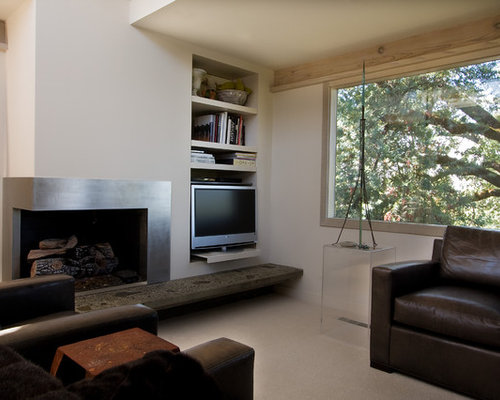 Living Room With Corner Fireplace furniture placement around corner fireplace | houzz