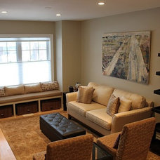 Modern Family Room by Second Wind Interior Design