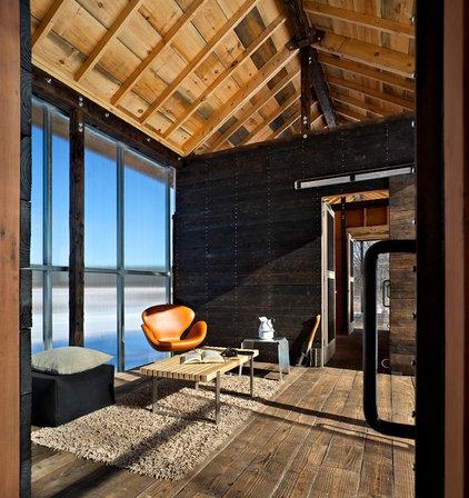Modern Family Room by Studio Z Design