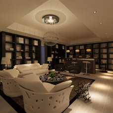 Modern Family Room by Limitless