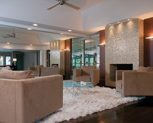 Tiled Fireplaces Design Ideas & Remodel Pictures | Houzz