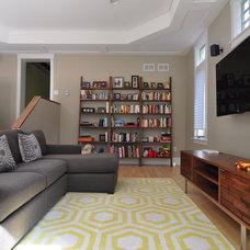 Contemporary Family Room by Habitar Design