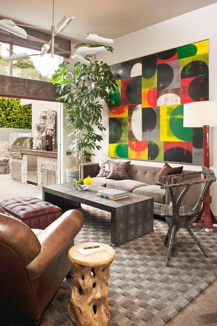 Modern Family Room by Harte Brownlee & Associates Interior Design