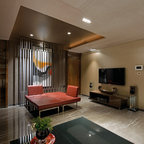 Fenton Mi Contemporary Family Room Detroit By
