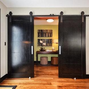 Modern Industrial Double Barn Doors