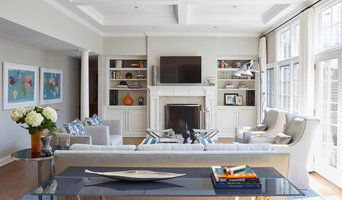 Modern Industrial Family Room