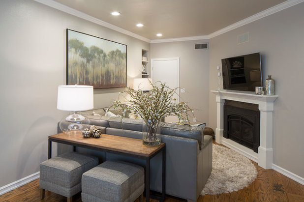Minimalistisch Wohnzimmer By Brittany L Whitney