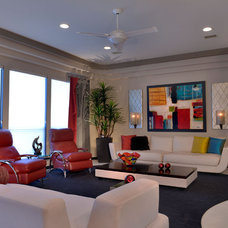 Modern Family Room by The Design Firm