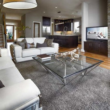 Modern Family Room by Epic Development