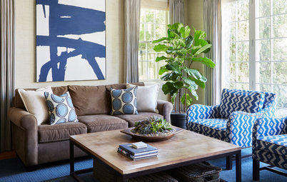 Houzz Tour: Modern Update for a Traditional Home