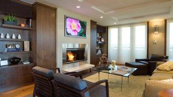 Modern Loft Family Room