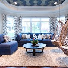Modern Family Room by Olamar Interiors