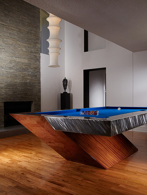 Cool pool table design ideas remodel pictures houzz - Billard table moderne ...