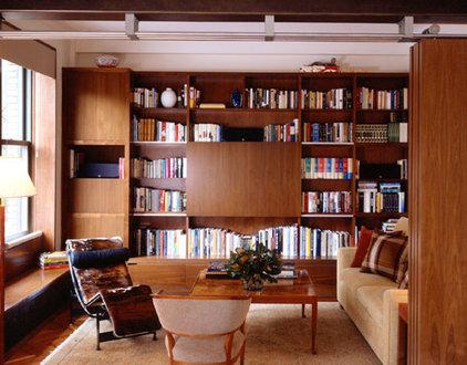 Modern Family Room by Gleicher Design - Architecture & Interiors