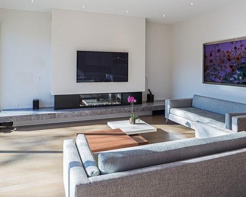 75 Large Modern Family Room Design Ideas Stylish Large Modern