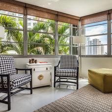 Contemporary Family Room by Lourdes Gabriela Interiors